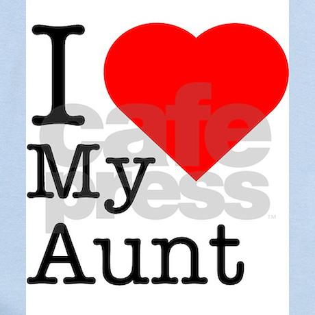 I Love My Aunt Onesie by ShowYourShirt