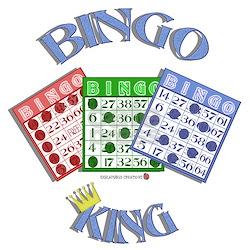 Bingo King Ash Grey T-Shirt