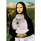 Mona / Std Poodle(w) Water Bottle