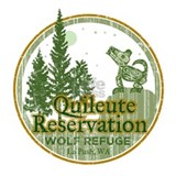 Quileute Wolf Refuge Water Bottle