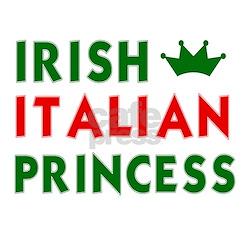 Irish Italian Princess Women's Pink T-Shirt