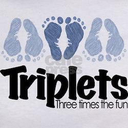 Triplet Boys - More Fun Tee