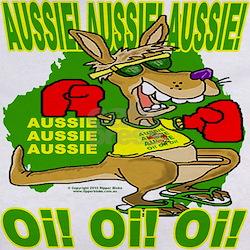 Aussie Supporters Tee