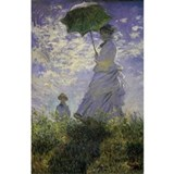 Claude Monet Woman w Parasol Water Bottle