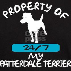 Patterdale Terrier Black T-Shirt