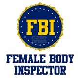 FBI Female Body Inspector Mug