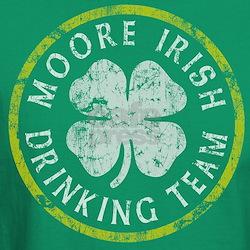 Moore Irish Drinking Team T-Shirt