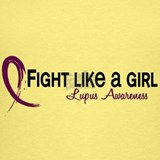 Fight like a girl lupus Tank Tops