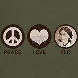 Peace love nurse T-shirts