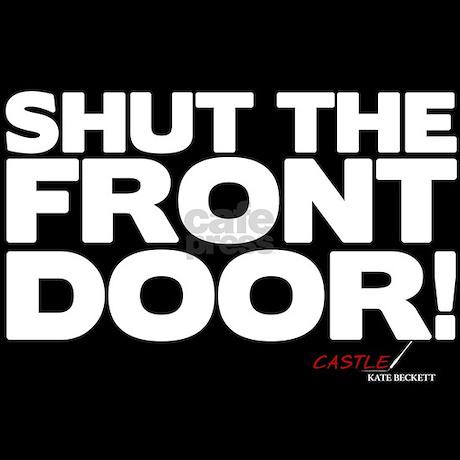 Shut the front door pajamas by wheeshirt
