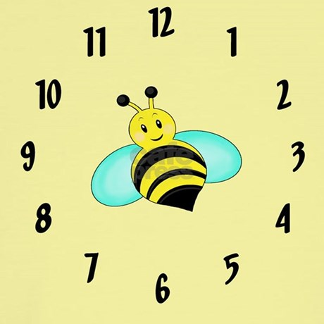 Bumble Bee Wall Clock By Sweet Little Things