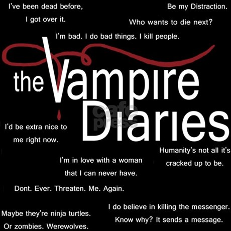 Vampire Love Quotes And Sayings Vampire diaries quotes
