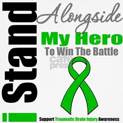 TBI I Stand Alongside My Hero T-Shirt