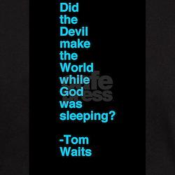 Tom Waits Black