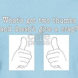 Two Thumbs Women's T-Shirt