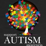 Autism tree T-shirts