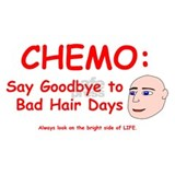 Chemo - Say Goodbye to Bad Hair Days Mug