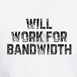 Bandwidth T-shirts