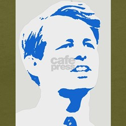 Robert Kennedy Quote T Shirt (blue-organic))