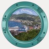 St Thomas Shot Glass