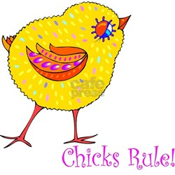 """Chicks Rule"" Women's T-shirt"