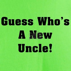 Guess Who's A New Uncle T-Shirt