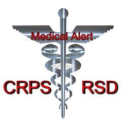 CRPS / RSD Medical Alert Infant T-Shirt