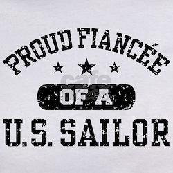 Proud Fiancee of a US Sailor Tee