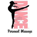 Personalized Beautiful Dancer Sports Water Bottle
