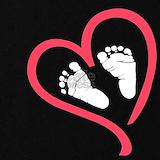 Baby feet heart maternity Maternity