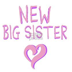 New Big Sister Infant T-Shirt