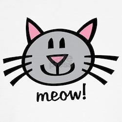 Lil Grey Cat T-Shirt