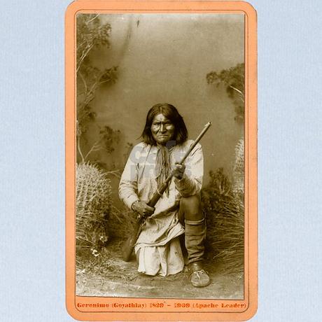 Geronimo Apache Leader Baby Blanket By Latenitegrafix