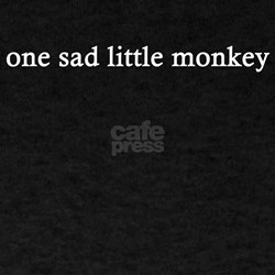 one sad little monkey