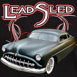Lead Sled - Pinstripe T-Shirt