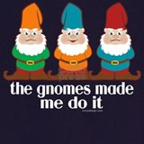 Gnomes made me do it Aprons