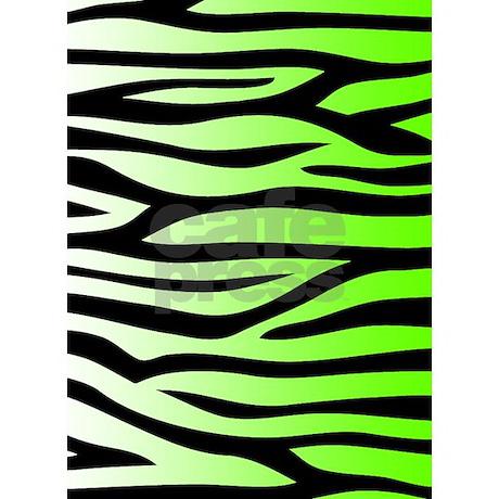 Green Zebra Print Lime Green Zebra Print