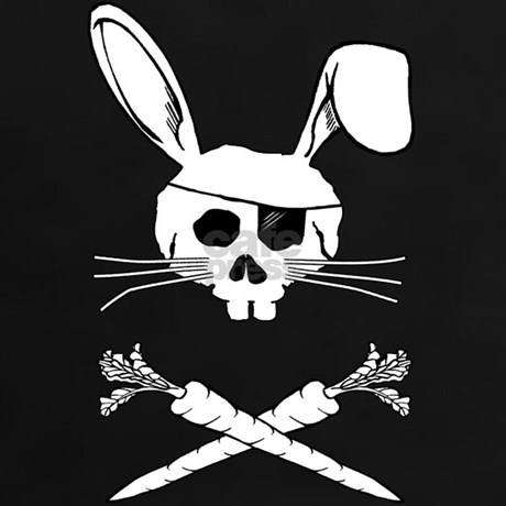 Pirate bunny tee by rowdytease - Bugs bunny pirate ...