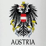 Austria Coat of Arms Pint Glass