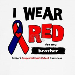 I wear red for my brother T-Shirt
