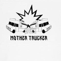 Women's mother trucker Sleeve T-Shirt