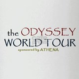 Odyssey World Tour Drinking Glass