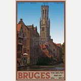 The Bruges Belfry Shot Glass