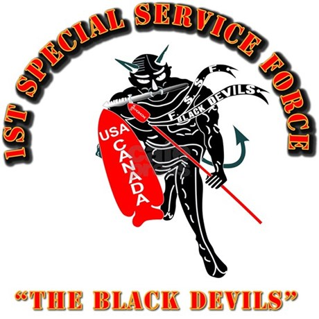 SOF - 1st SSF - Black Devils Bumper Stickers by AAAVG