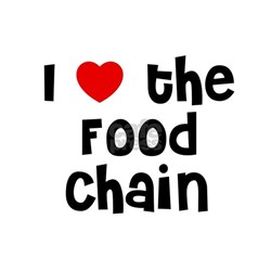 I * the Food Chain Shirt