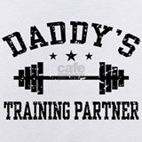 Daddy\'s future training partner Baby Bodysuits