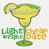 Lightweight Cheap Date Shot Glass