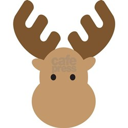 Moose Cartoon Animal C...
