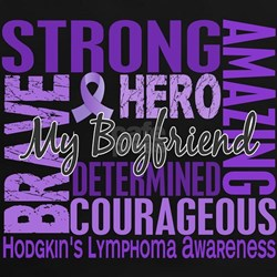 Tribute Square Hodgkin's Lymphoma Tee