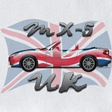 MX-5 UK T-shirt